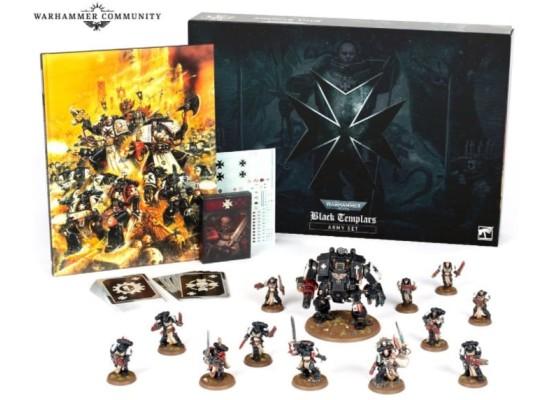 Warhammer 40000 Black Templars Army Set (limited edition)