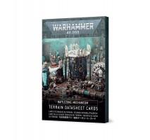 Battlezone Mechanicum – Terrain Datasheet Cards