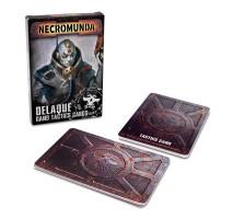 Necromunda Delaque Gang Tactics Cards