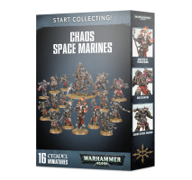 Warhammer 40 000 - Start Collecting Chaos Space Marines
