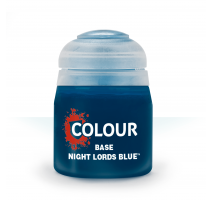 Base : Night Lords Blue