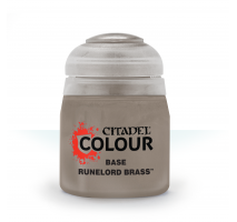 Base : Runelord Brass