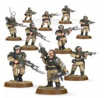 Astra Militarum Cadian Infantry Shock Squad