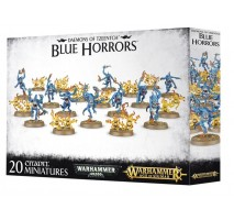Blue and Brimstone Horrors