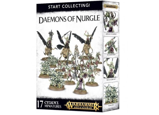 Warhammer Age of Sigmar - Start Collecting Daemons of Nurgle