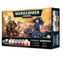 Warhammer 40000 : Essentials Citadel Paint Set