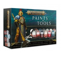 Warhammer Age of Sigmar Paints & Tool Set