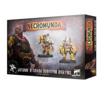 Necromunda - Jotunn H-Grade Industrial Servitor Ogryns