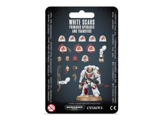 Space Marines White Scars Primaris Upgrades Pack