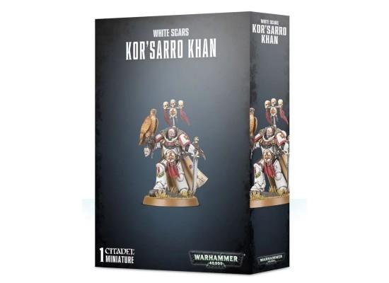 Space Marines Primaris White Scars Kor`sarro Khan