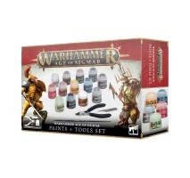 Warhammer Age of Sigmar Paint + Tools Set