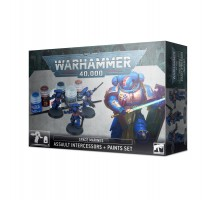 Warhammer 40000 : Space Marines Assault Intercessors & Paint Set