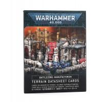 Battlezone Manufactorum Datasheet Cards