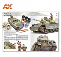 AK-914 Modeling T54 – T55 MiniArt (English)