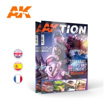 AK6300 - AKTION Nº1: THE WARGAME MAGAZINE (english)