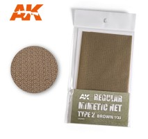 AK 8062 - REGULAR MIMETIC NET Type 2 BROWN
