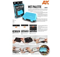 AK8075 WET PALETTE - FOAM (replacement)