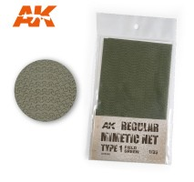 AK 8066 - REGULAR MIMETIC NET Type 1 FIELD GREEN