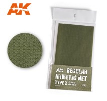 AK 8067 - REGULAR MIMETIC NET Type 2 FIELD GREEN
