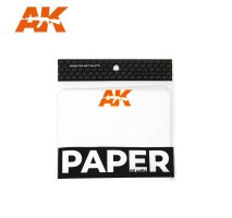 AK8074 WET PALETTE - PAPER SET 40 buc (replacement)