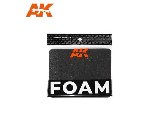 AK8075 WET PALETTE - FOAM (replacement)