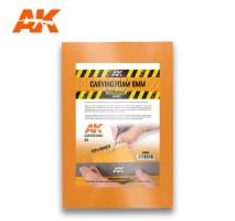 AK 8093 - CARVING FOAM 8MM A5 SIZE