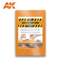 AK 8094 - CARVING FOAM 10MM A4 SIZE