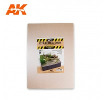 AK 8099 - EXTRUDED FOAM 30MM SIZE A4
