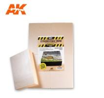 AK 8100 - EXTRUDED FOAM 30MM SIZE A4 (PRE-CUT)