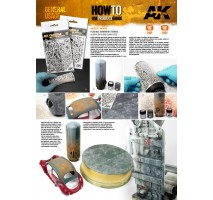 AK 9080 -FLEXIBLE AIRBRUSH STENCIL 1/48 – 1/72