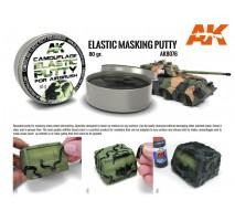 AK 8076 - CAMOUFLAGE MASKING PUTTY