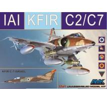 AMK 86002 - 1:72 KFIR C2/C7