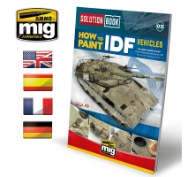 A.MIG-6501 - SOLUTION BOOK HOW TO PAINT IDF VEHICLES - MULTILINGUAL BOOK