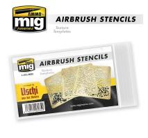 A.MIG-8035 - AIRBRUSH STENCILS