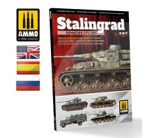 A.MIG-6146 - Stalingrad Vehicles Colors - German and Russian Camouflages in the Battle of Stalingrad (Multilingual)