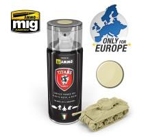 TTH116 Ammo Titans Primer Spray - Bone White Matt