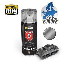 TTH117 Ammo Titans Primer Spray - Gun Metal Metallic