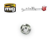 A.MIG-8668 - Airviper nozzle cap guard (4 slotted aircap nozzle guard reversible)