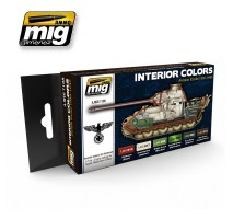A.MIG-7108 - INTERIOR COLORS - GERMAN TANKS