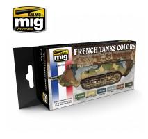 A.MIG-7110 - I WW & II WW FRENCH CAMOUFLAGE COLORS