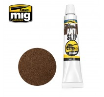A.MIG-2035 - ANTI-SLIP PASTE - BROWN COLOR FOR 1/35