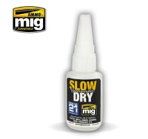 A.MIG-8013 - SLOW DRY CYANOACRYLATE