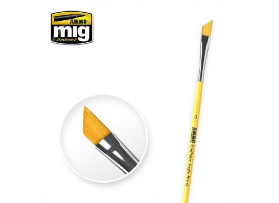 A.MIG-8607 - Synthetic Angle Brush Size 6