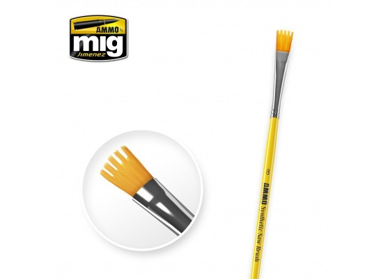 A.MIG-8585 - Synthetic Saw Brush Size 8