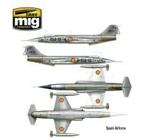 AMMO A.MIG-8504 - 1:48 F-104 G STARFIGHTER
