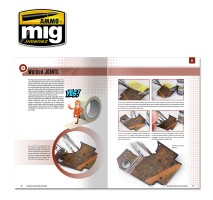 A.MIG-6098 - THE MODELING GUIDE FOR RUST AND OXIDATION (English)