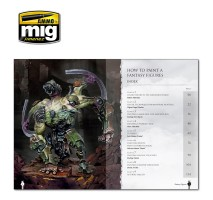A.MIG-6125 - PAINTING SECRETS FOR FANTASY FIGURES (English)