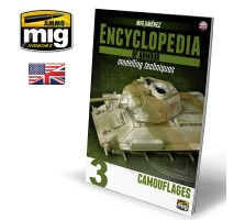A.MIG-6152 - ENCYCLOPEDIA OF ARMOUR MODELLING TECHNIQUES VOL. 3 - CAMOUFLAGE ENGLISH