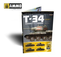 A.MIG-6145 - T-34 Colors. T-34 Tank Camouflage Patterns in WWII (Multilingual)