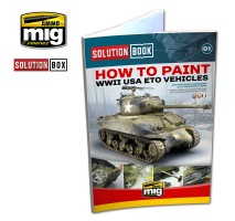 A.MIG-6500 - WW II AMERICAN ETO SOLUTION BOOK (Multilingual)